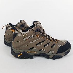 Merrell Moab Mid Gore-Tex XCR Dark Tan Boots 8.5